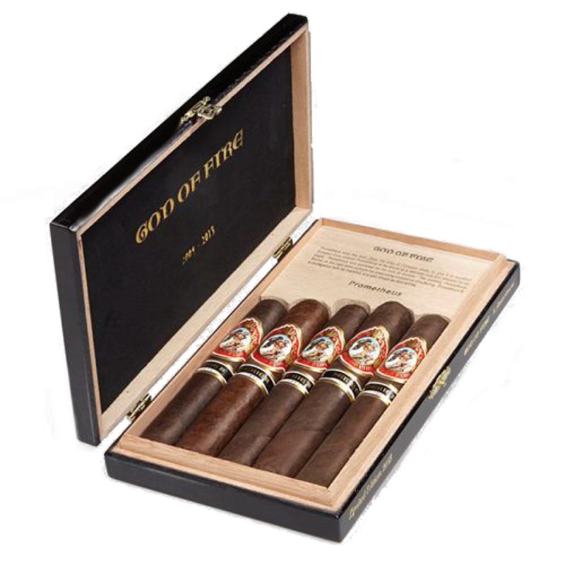Arturo Fuente God Of Fire Serie B 5 Cigar Assortment