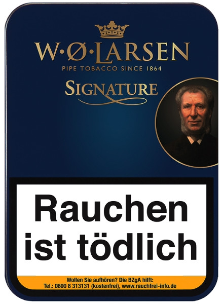 W.O. Larsen Signature