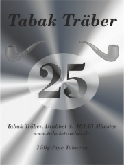 Tabak Traeber anniversary tobacco with pot