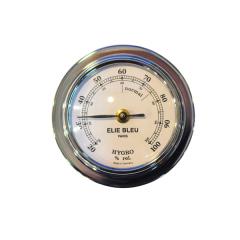 Elie Bleu Hygrometer silver Small Size