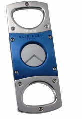 Elie Bleu Cutter Double Blade Blue Stainless Steel