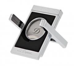 S.T. Dupont Cigar Cut Stand black & chrome