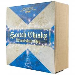 Scotch whiskey advent calendar