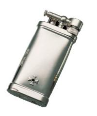 Sillems Old Boy lighter Silber