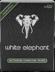 White Elephant 9mm Kohlefilter