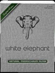 White Elephant 150 Natural Meerschaum Filter 9mm