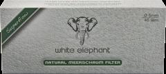 White Elephant Natural Meerschaum Filter 6mm
